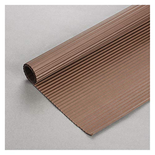 Rollo de papel crepé de color para manualidades (10 unidades, 50 x 70 cm), color transparente