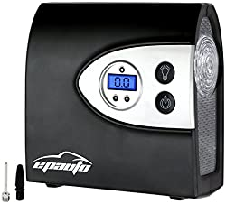 EPAuto 12V DC Auto Portable Air Compressor Pump w/Digital Tire Inflator
