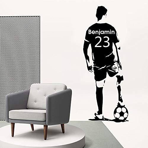 Hetingyue Grote voetbal, personaliseerbaar, voor kinderkamers