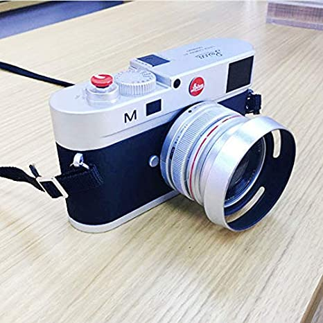 Color : Silver GuiPing Non-Working Dummy DSLR Camera Model Photo Studio Props for Leica M Hood Lens Durable