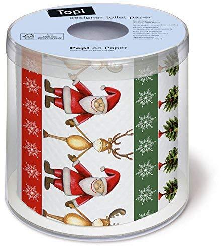 Toilettenpapier Rolle bedruckt Together - Gemeinsam