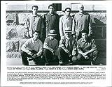 Vintage Photos 1992 Daniel HARO Pepe Serna Domingo Ambriz Vic Trevino Hombres Actor 8X10
