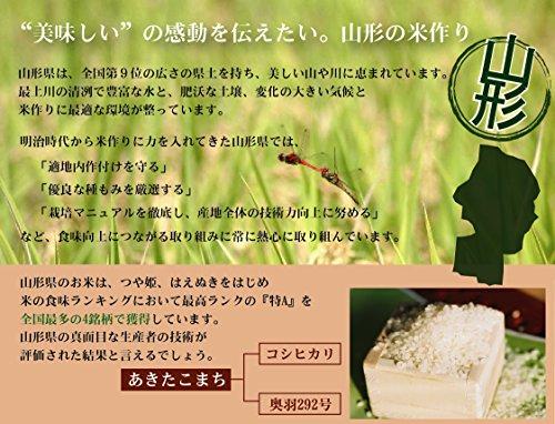 ハナノキ『無洗米山形県産あきたこまち』