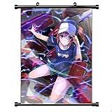 Henanyimeixiang Anime Magique Interdit Livre Mur défilement Mural Affiche tenture Murale Affiche Otaku Maison Art décor 50x75 cm avec Crochet C