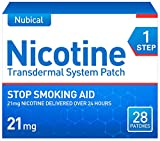 Nubical Nicotine Patches Step 1 to Quit Smoking,Stop Smoking Aid That Work,21mg Nicotine,Anti-Smoking Patch,28 Patches,14 Packs,4-Week Kit