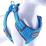 ThinkPet Reflective Breathable Soft Air Mesh No Pull Puppy Choke Free Over Head Vest Ventilation...
