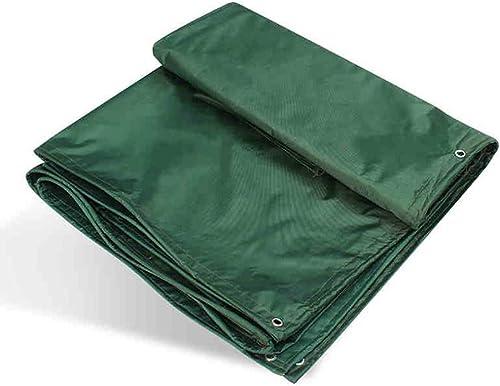 LYN Bache imperméable épaisse de bache de prougeection de bache de tissu d'Oxford de parasol de toile de bache de voiture de bache en caoutchouc de revêtement de caoutchouc mou de PVC de bache sans odeu