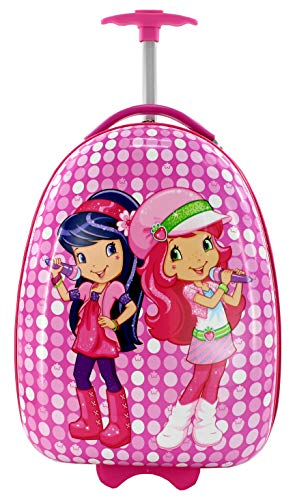 Maleta Infantil de Cabina Trolley Infantil Fantasia Estampados Equipaje de Mano 2 Ruedas (Bailarinas)