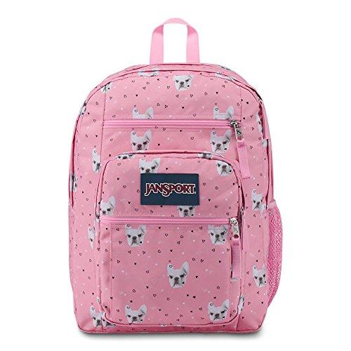JanSport Big Student Backpack  Fierce Frenchies  Oversized