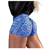 Biker Shorts for Women,Women Sports Short Booty Sexy Lingerie Gym Running Lounge Workout Yoga Spandex Short Hot Costume Outfit Blue