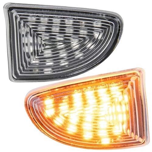 phil trade LED SEITENBLINKER kompatibel für FORTWO A451, C451 | Cabrio & Coupe | KLARGLAS | 7232