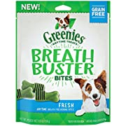 GREENIES BREATH BUSTER Bites Fresh Flavor Treats for Dogs 5.5 Ounces