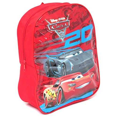 Disney Cars 3 31cm Backpack - Cars 3 Back to School - Cars 3 Lightening McQueen