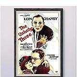 Jhmjqx DIE UNheiligen DREI (2) Vintage Classic Movie Wand
