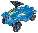 BIG Spielwarenfabrik- Big Bobby-Car Classic Police – Veicolo Adesivi in Design Poliziotto, Ragazze, Portata Fino a 50 kg, per Bambini a Partire da 1 Anno, Blu, 800056127