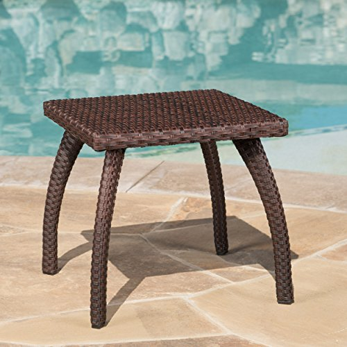 Christopher Knight Home Honolulu PE Accent Table, Brown