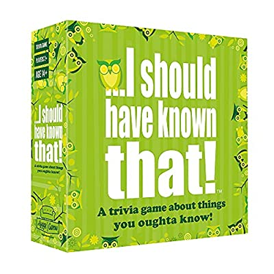 ...I should have known that! Trivia Game by Hygge