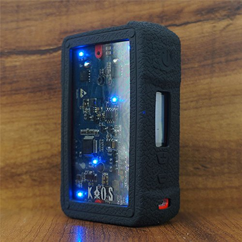 ModShield for Sigelei KAOS Z 200W Silicone Case ByJojo Cover Shield Wrap Skin (Black)