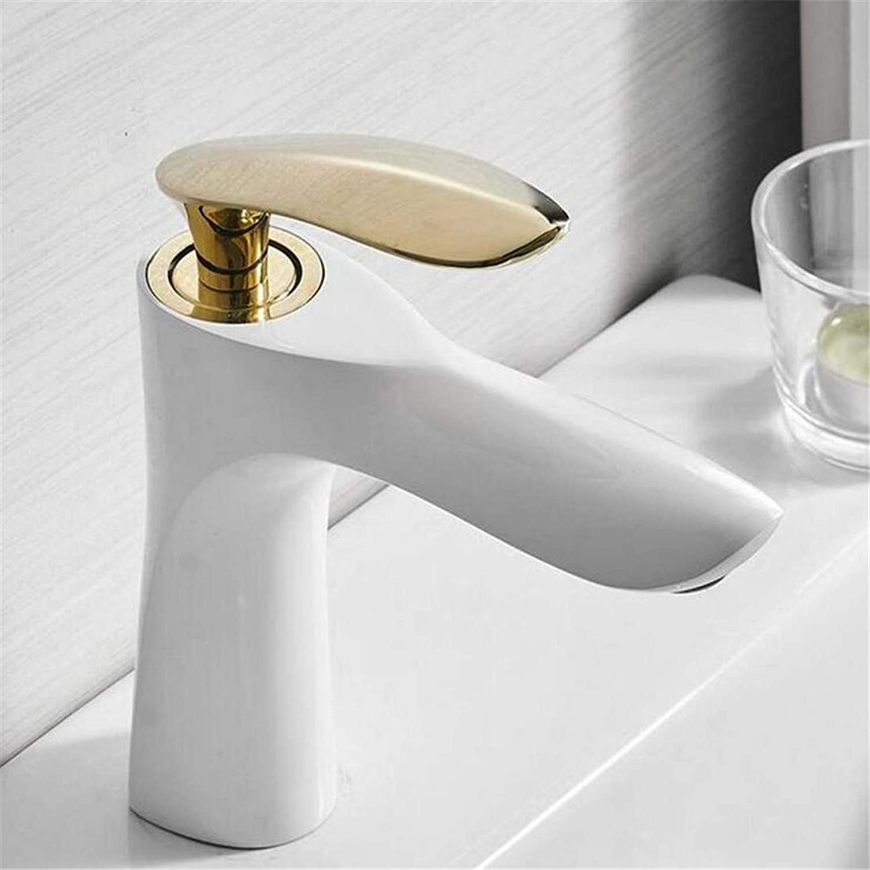 Faucet Chrome Single Handle Contemporary Kitchen Faucet Faucet Washbasin Mixer Art Bathroom Faucet Hot and Cold Water Basin Mixer Tap Brass Sink Water Crane