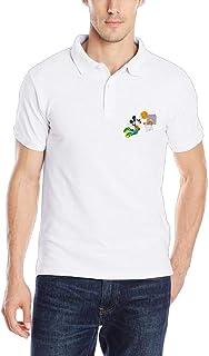 FOOOKL Mickey Dunk Unisex Adult Cotton Polo Shirt Jersey Shirt