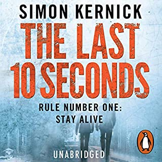 The Last 10 Seconds audiobook cover art