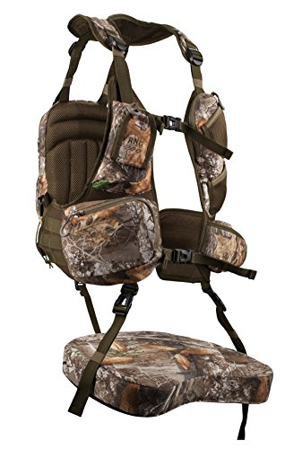 Knight & Hale KHT0065 Run N' Gun 200-Turkey Vest Frame, Realtree Edge Frame