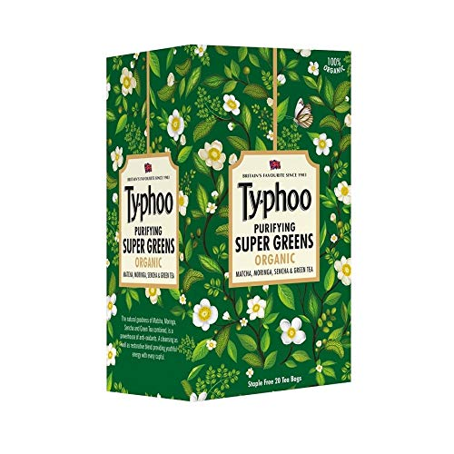 Typhoo Purifying Supergreen Organics Pouch, 30 g