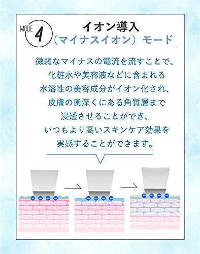 SLOTREウォーターピーリング防水お風呂で使えるIPX6美顔器イオン導入イオン導出毛穴黒ずみケアピーリング超音波角栓角質皮脂汚れニキビ超音波美顔器ミスト機能