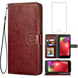 Asuwish Compatible with Moto E4 Plus Motorola E4+ Wallet