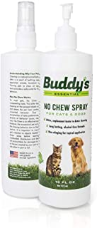Anti Chew, Bitter Spray for Dogs and Cats-16 Oz, Extreme Taste-Stops Furniture Pet Chewing, Biting, Licking-Alcohol Free Deterrent/ Repellant -Made in USA, For Puppy, Kitten Training Aid