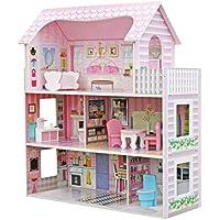 Star- Casa de Muñecas con Familia y Mobiliario, Multicolor, Talla Única (Duplex) , color/modelo surtido