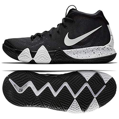 Nike Mens Kyrie 4 TB Basketball Shoes (12 D(M) US) Black/White