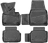 Walser Alfombrillas de Goma a Medida XTR compatibles con BMW i3 año 2013 - Hoy, Alfombrilla Coche, Protector de Suelo Coche