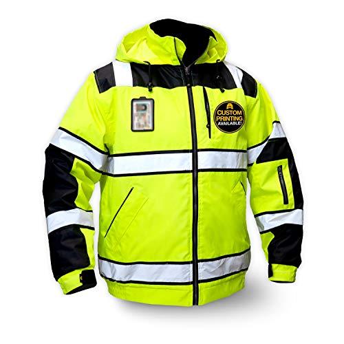 KwikSafety (Charlotte, NC) ENFORCER Bomber Safety Jacket (DETACHABLE...