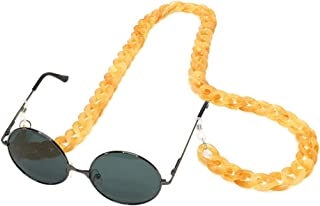 Sopaila Womens Mens 70cm Acrylic Retro Design Candy Colors Eyeglass Chain Holder Strap Cord