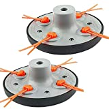 ELECTROPRIME Outdoor Trimmer Head Garden Strimmer line Gas Replacement Lawn Mower Useful
