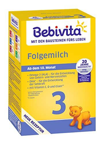 Bebivita 3 Folgemilch - ab dem 6. Monat, 3er Pack (3 x 500g)