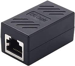 RJ45 Coupler, Ethernet Extender for Cat5/Cat5e/Cat6/Cat6e/Cat7 Network Coupler Female to Female Connector, Ethernet Coupler