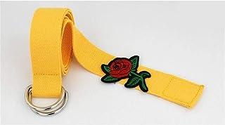 19512b359 Amazon.es: Vestido Negro Bordado - Amarillo / Mujer: Ropa