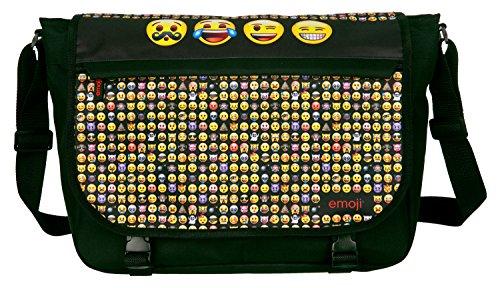 Undercover EMTU7645 Schultertasche, Emoji, ca. 33 x 49 x 11 cm
