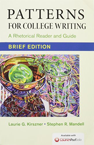 Patterns for College Writing, Brief Edition 13e & Launchpad Solo for Patterns for College Writing 13e (Six Month Access)