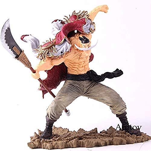 MNZBZ SC Edward Newgate 20. Figur One Piece Anime Figur One Piece Edward Newgate Whitebeard Actionfigur Sammlerstück Spielzeug ohne Verkaufsbox