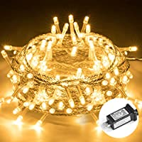 Elegear 33Ft 100LEDs Dimmable Fairy String Lights