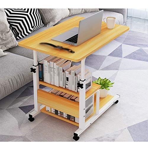 LDG Mobiele Laptop Bureau Hoogte Verstelbare Over Bed Tafel Bank Bank Rolling Wheel Laptop Computer Bureau Home Office Slaapkamer
