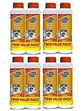 Glisten Washer Magic Washing Machine Cleaner and Deodorizer, 8 Bottles