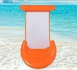 Queta Hamaca Hinchable colchonetas Piscina Inflable Flotador Piscina para Adultos y Niños Hinchables Juguete para Fiesta de Piscina 125 * 65 cm