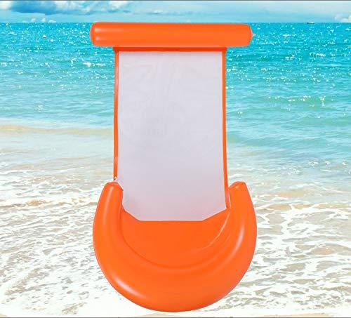 Queta Wasser Hängematte, Neue Version Pool Luftmatratze Wassermatte Poolspielzeug Aufblasbare Poolliege Strandmatratze