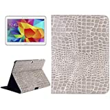 ALLSHOPSTOCK (#52) Crocodile Texture Leather Case with Holder for Compatible with : Galaxy Tab 4...