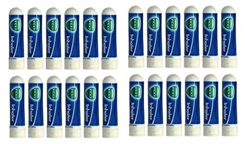 Vick's Nasal Inhaler for Cold, Sinus & Allergy, 24 Pack