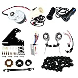 24v 250w diy electric bicycle motor kit | electric bike conversion kit electric bike side mounted